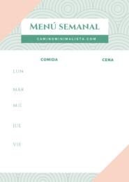 Plantilla menu semanal_comida y cena