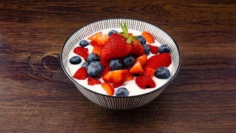 Frutas yogurt