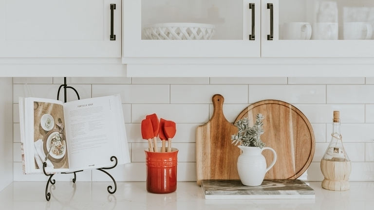 minimalismo cocina