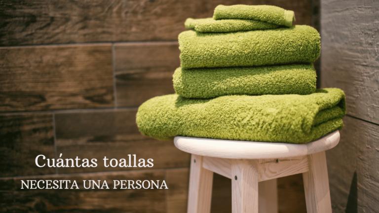 Cuántas toallas necesita una persona