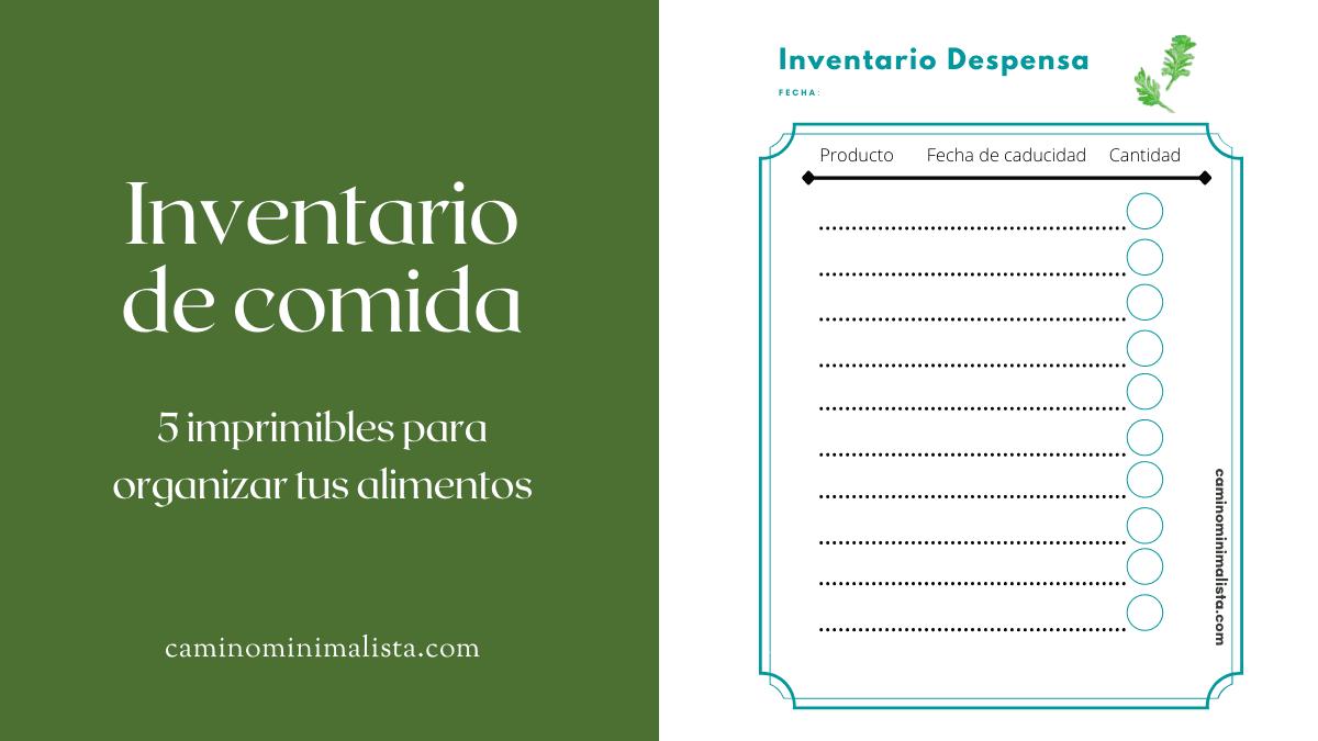minimalismo_inventario comida