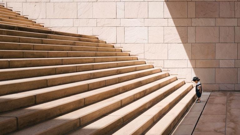 Escalera de retos
